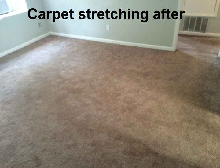Carpet Stretching After